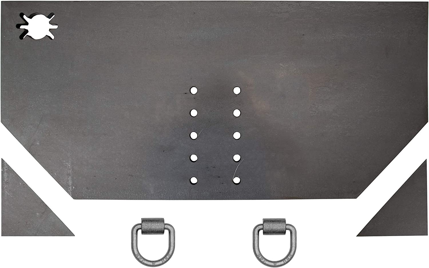 """GVW BUYERS PRODUCTS 1809030B Hitch Plate,62/""""L,15-1//2/""""H,15000 lb"""