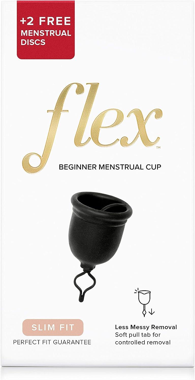 The Flex Company - Vasos menstruales BD10388 , Slim, Delgado ...