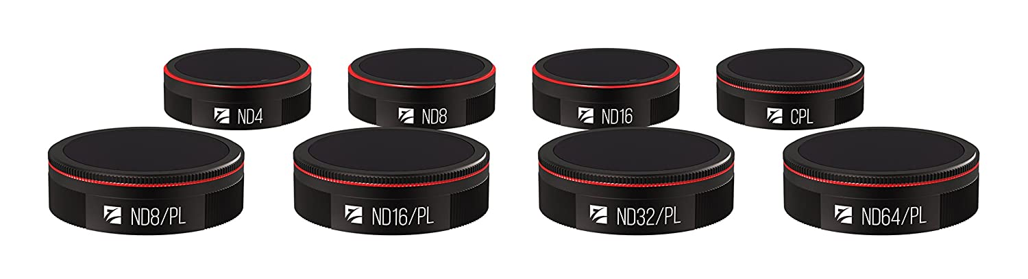 Freewell Bright Day 4 Pack ND8//PL ND16//PL ND32//PL ND64//PL Filters Compatible with Autel Evo