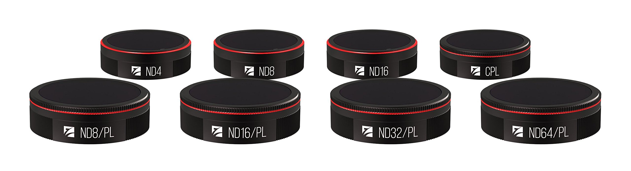 Freewell All Day 8 Pack ND4, ND8, ND16, CPL, ND8/PL, ND16/PL, ND32/PL, ND64/PL Filters Compatible with Autel Evo by Freewell