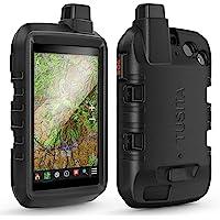 TUSITA Etui Silikon kompatybilne z Garmin Montana 700i 750i - Pokrowiec Silikonowy Ochronne - Akcesoria GPS Touchscreen…