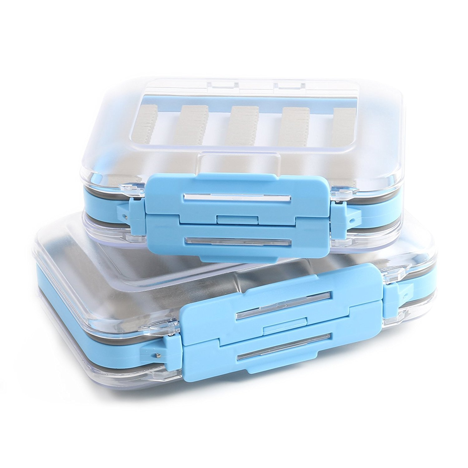 Maxcatch Two-Sided Waterproof Fly Box Slit Foam Fly Fishing Box