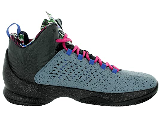 Amazon.com | Jordan Men's Melo M11 Bl Grpht/Mtllc Slvr/Blck/GM Ry  Basketball Shoe 10.5 Men US | Basketball
