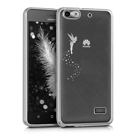 11 opinioni per kwmobile Cover per Huawei G Play Mini- Custodia protettiva in silicone TPU