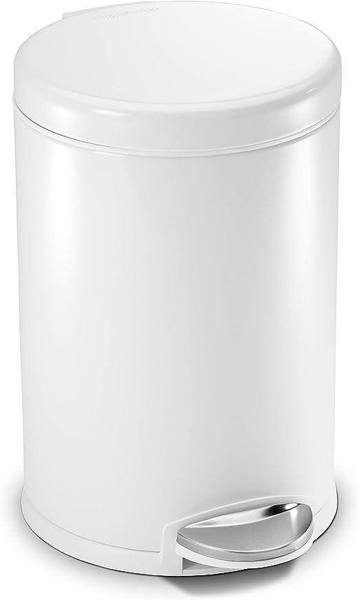 Amazon Com Simplehuman 4 5 Liter 1 2 Gallon Round Bathroom Step