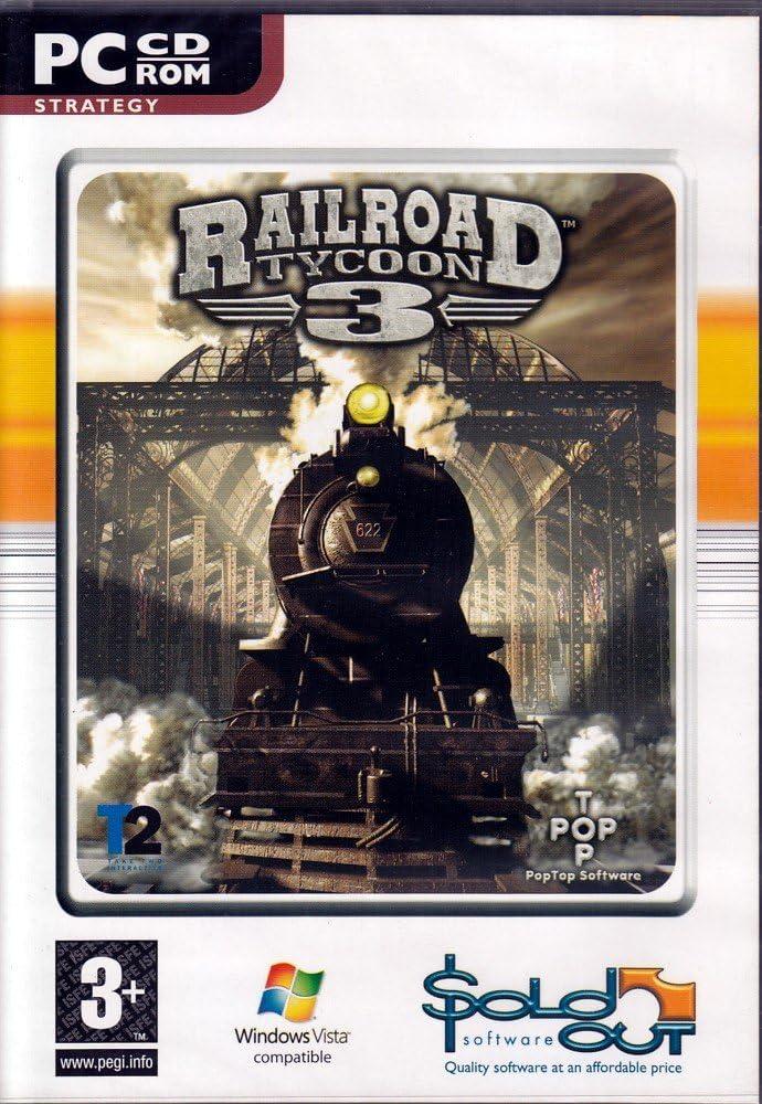Amazon com: Railroad Tycoon 3 (Mac): PC: Video Games