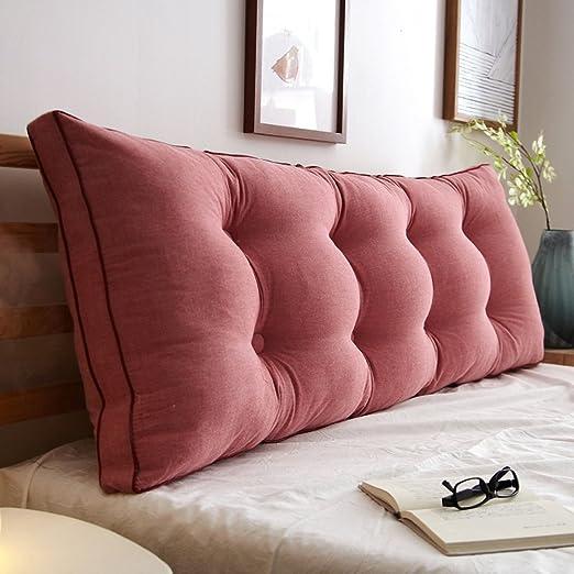 AOLI Cojín del respaldo de la cama Almohada larga Sofá ...