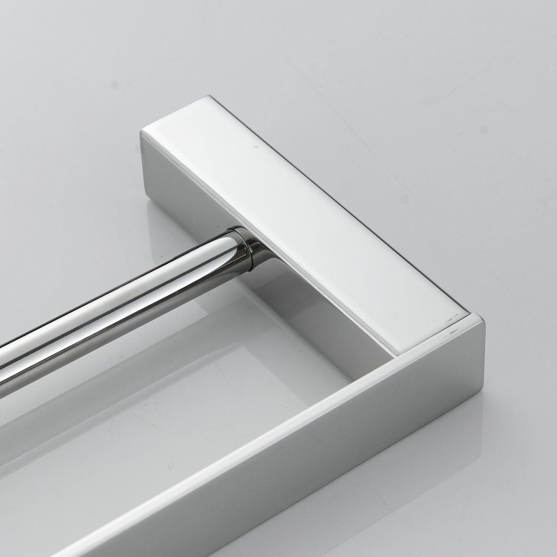 Beelee Towel Rail For Bathroom Wall Mounted Double Towel Bar 40cm Polish Chrome Stainless Steel Ba8502c 40 Amazon Co Uk Kitchen Home