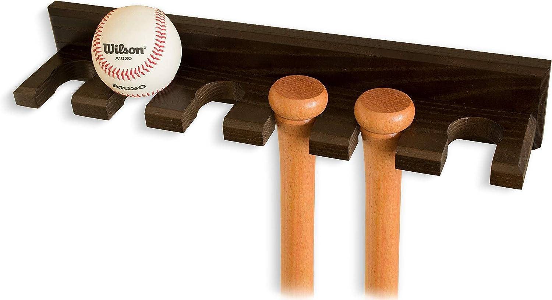 Tennis Baseball Schläger Softball Wandhalterung Halter Rack Anzeige Werkzeug 1