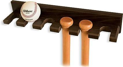 Baseball Bat Rack  Vertical Wall Mount Wall Rack Wall Holder-Black