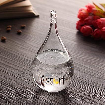 Essort Storm Glass, Cristal de Tormenta, Estación Metereológica, Previsiones Meteorológica, Barómetro,