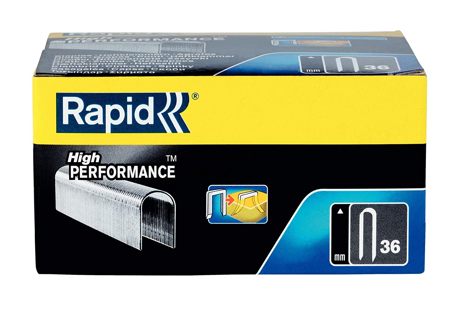 Rapid 11885110 Grapas para cable