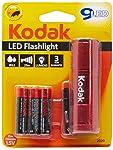 Lanterna 9-LED + 3 Pilhas AAA Palito Comum, Kodak 30412460