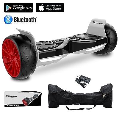 "EVERCROSS Hoverboard Challenger GT 8,5"" Gyropode Tout-terrain Smart Skateboard Électrique de Boutique GyroGeek (Noir)"