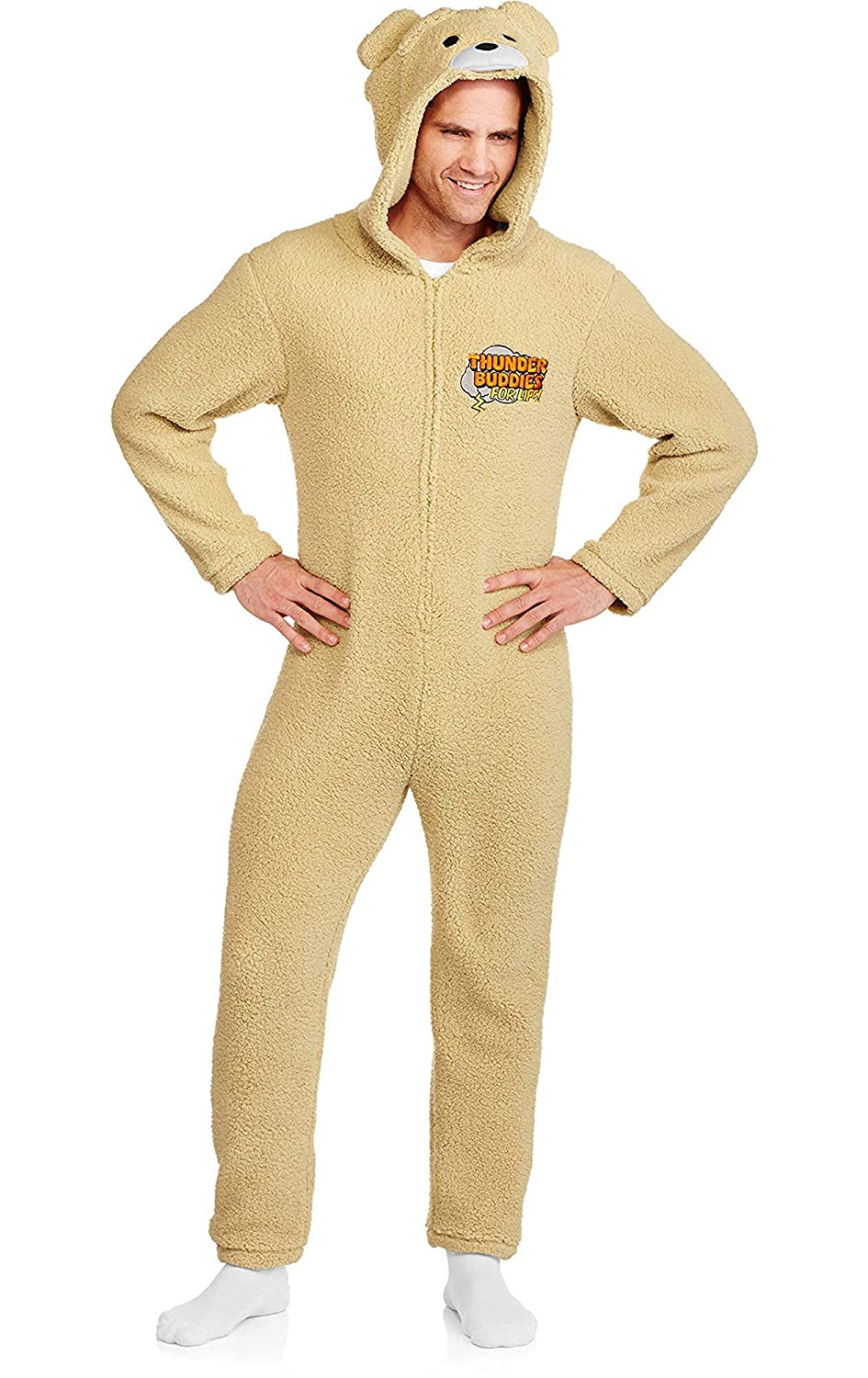 fb04602eec34 Amazon.com  Ted Men s Thunder Buddies for Life One Piece Union Suit ...