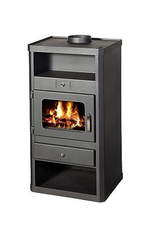 Estufa de leña chimenea moderno Multi Fuel Log quemador Norma 10 kW: Amazon.es: Bricolaje y herramientas