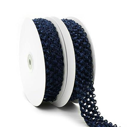 20fe0b166c Amazon.com: Elastic Crochet Headband Ribbon, 1-1/4 inch (30mm) x 5 ...