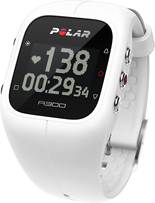 POLAR(ポラール) A300HR ホワイト (心拍計+フィットネス&アクティビティモニター)【日本語対応/日本正規品】 90054234