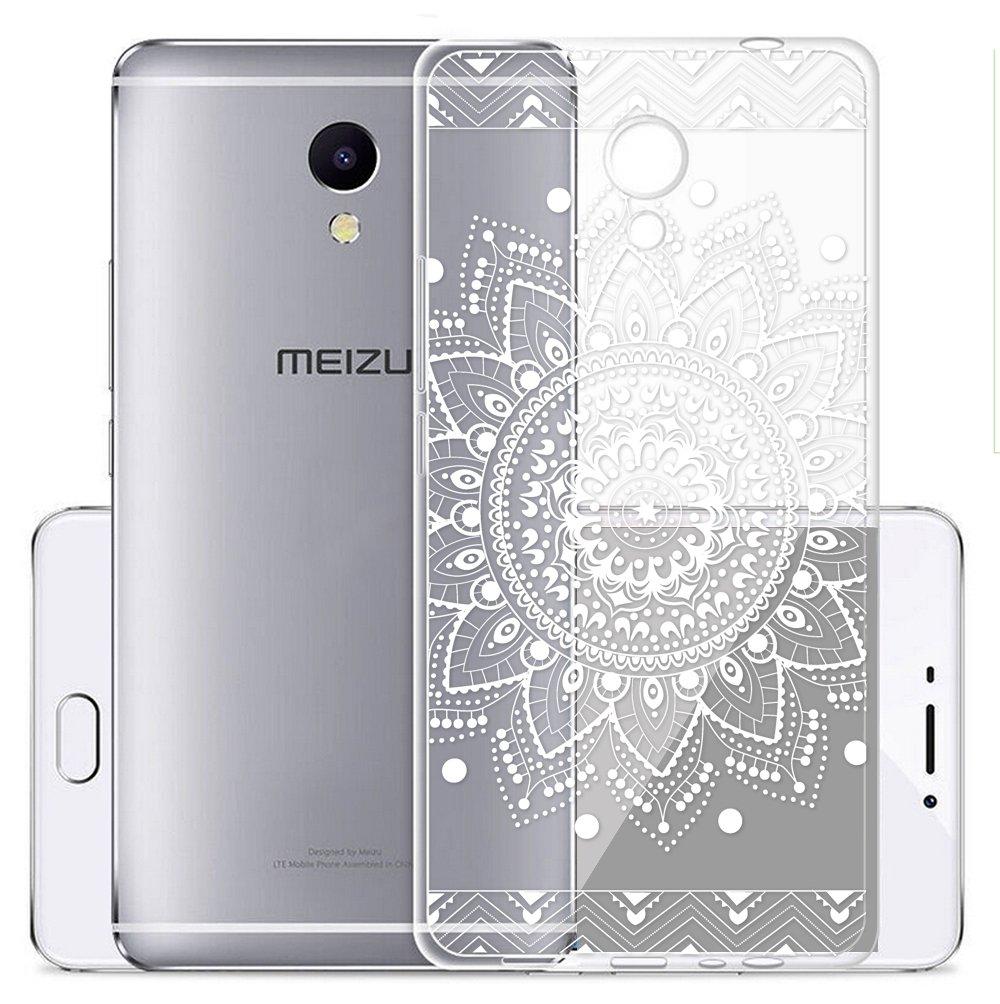 Funda Para Meizu M5S 5,2 pulgadas, Sunrive® Silicona Funda Slim Fit Gel Transparente Carcasa Case Bumper de Impactos y Anti-Arañazos Espalda Cover(tpu ...