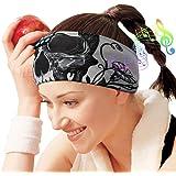 Sleep Headphones Bluetooth Headband, Wireless Sleeping Headphones Music Sport Headbands, Long Time Play Sleeping Headsets Bui