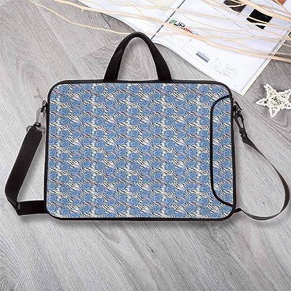 85d48569afc5 Amazon.com: Animal Print Decor Printing Neoprene Laptop Bag,Romantic ...