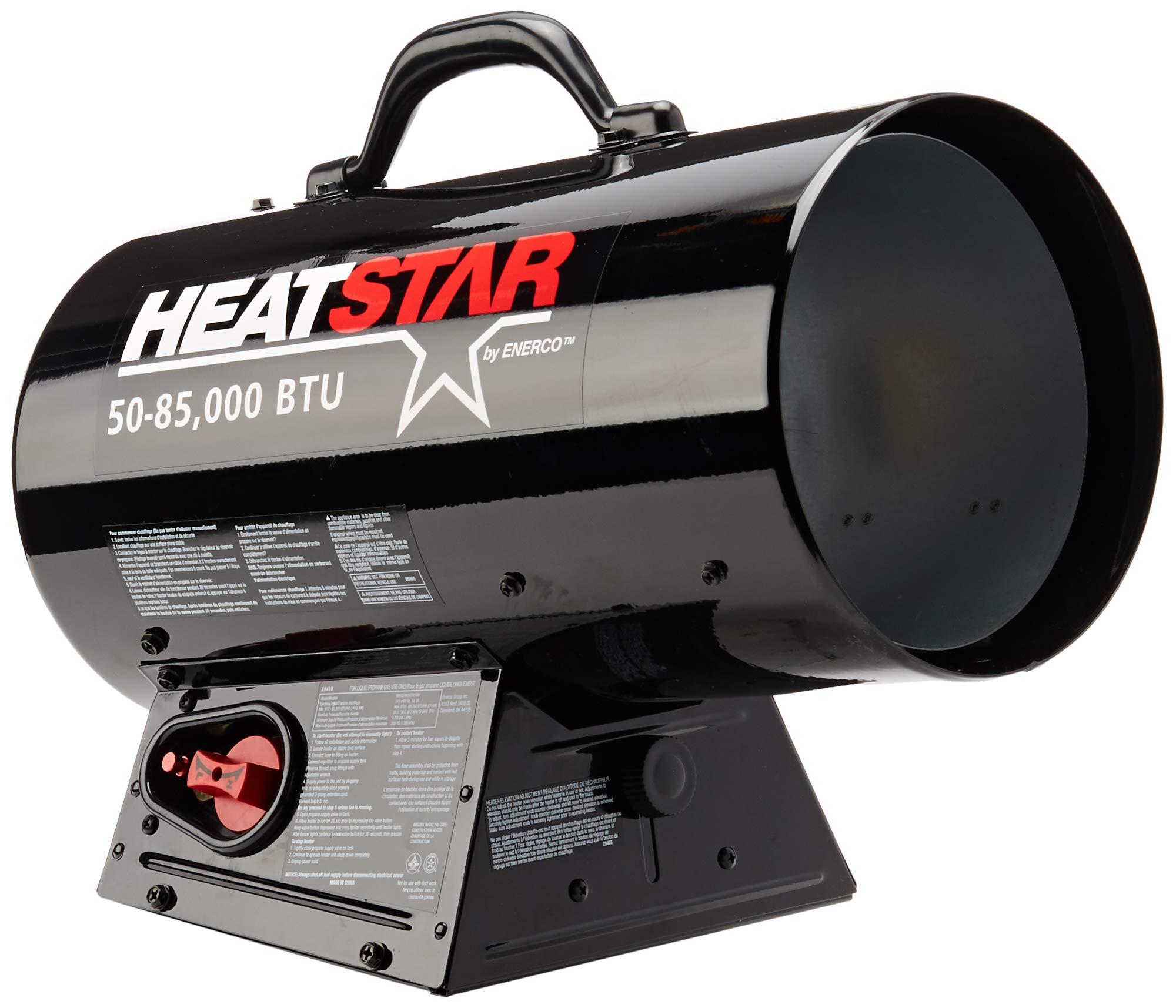 Heatstar By Enerco F170085 Forced Air Variable Propane Heater HS85FAV, 85K by Heatstar By Enerco