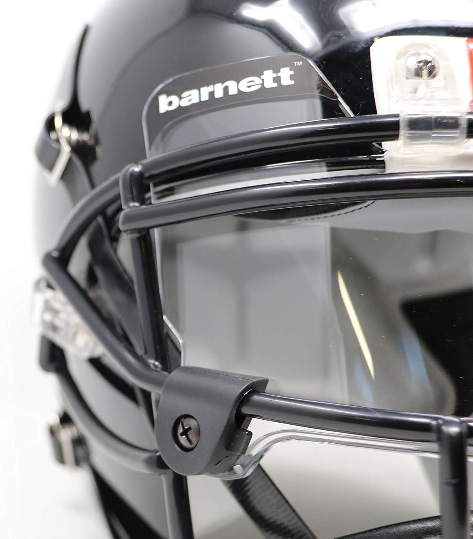 Barnett Football and Lacrosse Helmet Eye-shield Visor, Clear: Clothing