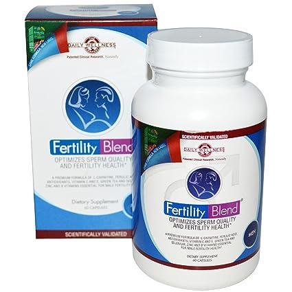 Daily Wellness Company - mezcla de fertilidad para hombres - 60 cápsulas