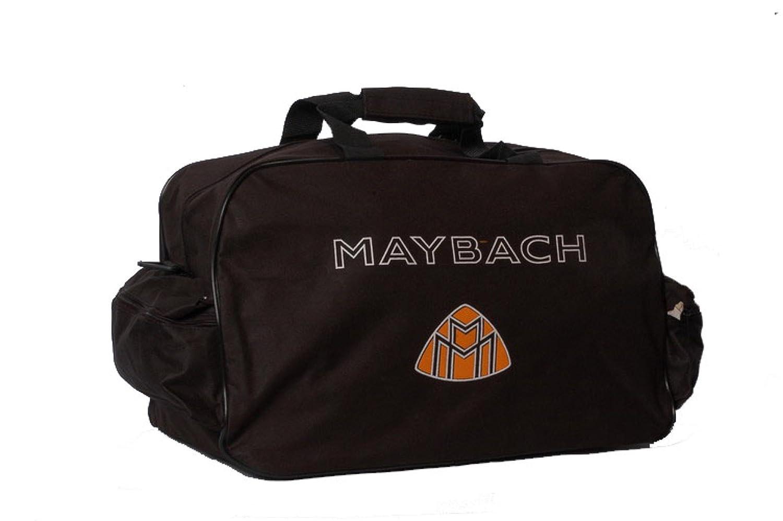 Neu Maybach Schwarz Logo Sporttasche Leichte Seesack