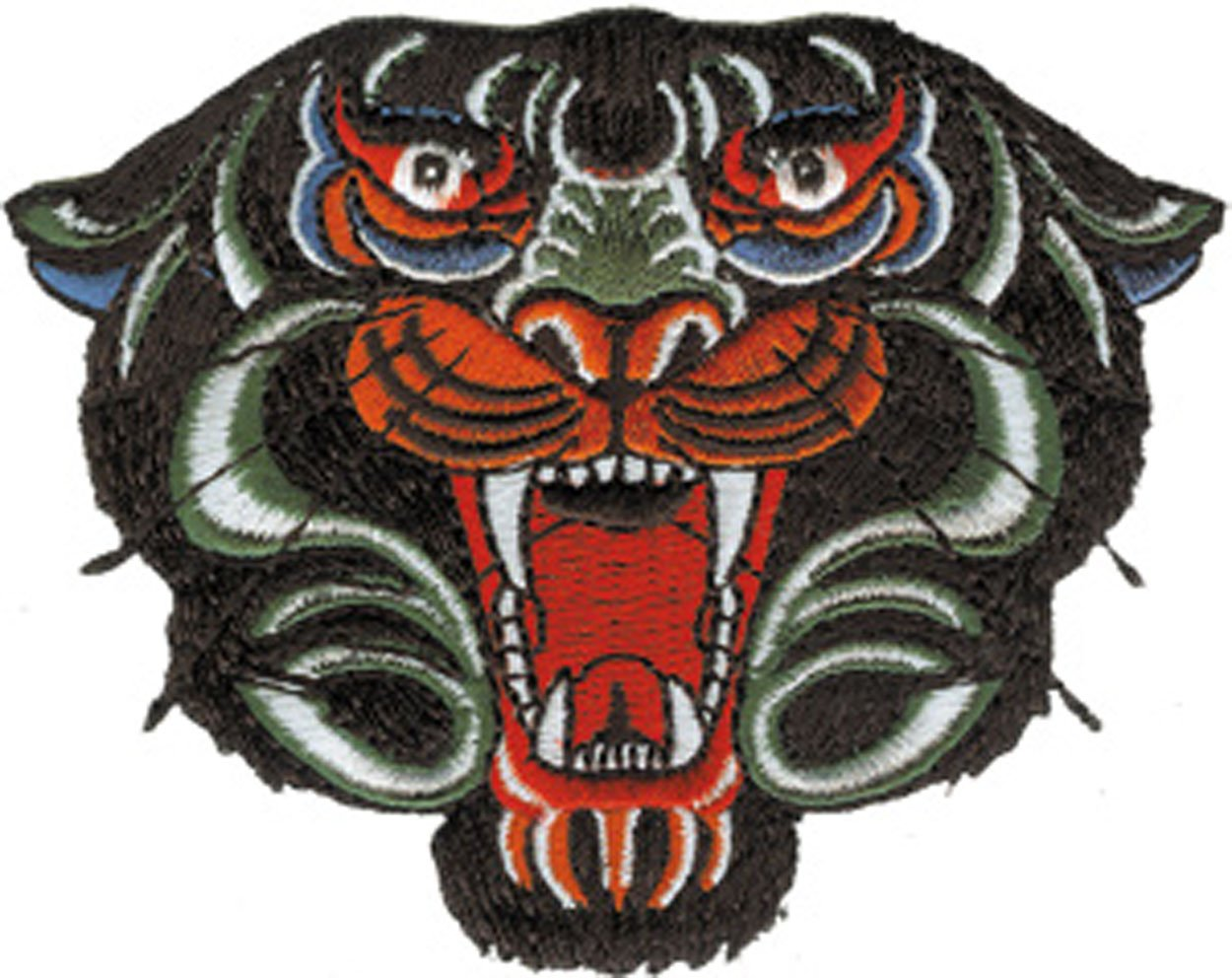 Patch - Animals - Head Iron On Gifts New Licensed p-3485 Officially Licensed & Trademarked Products