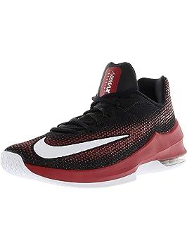 new arrival a0649 5d6dd Nike Air MAX Infuriate Low - Zapatillas Deportivas, Hombre, Negro - (   Amazon.es  Zapatos y complementos