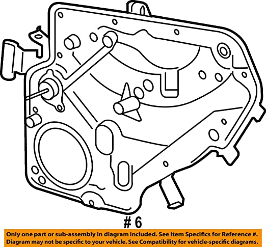 Amazon Com Volkswagen 5k4 839 462 Window Regulator Automotive