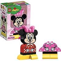 LEGO 10897 DUPLO Disney My First Mimmi mus, byggsats med 2 byggbara kläder, förskolleksaker för barn från 2 år