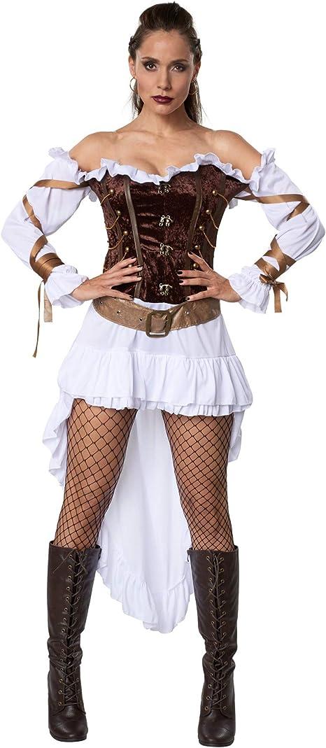 dressforfun 900487 - Disfraz de Mujer Guardia de Palacio Steampunk ...