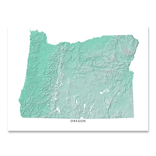 Amazon.com: Oregon State Map Print, OR, Aqua Landscape Art ... on aerial view of oregon state, printable map of washington state, google maps of oregon state, printable map of oregon counties, printable map of ny state, printable map of kentucky state, topographical map of oregon state, printable blank maps oregon, geography of oregon state, home of oregon state, printable map of oregon zip code, interactive map of oregon state, printable map of salem oregon, printable map of southern oregon, printable map of new york state, wildlife of oregon state,