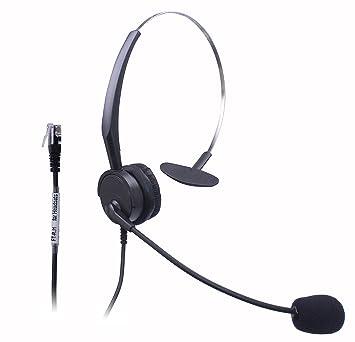 xintronics Wired Telefon Headset Mono W geräuschkompensierendes Mikrofon  für NEC Aspire dterm Nortel norstar Meridian 1cadd160dc
