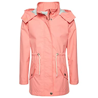2dfb3b3d5cbf Tom Tailor Mini Girls - geblümte Softshell-Jacke - strong peach tone (3479)