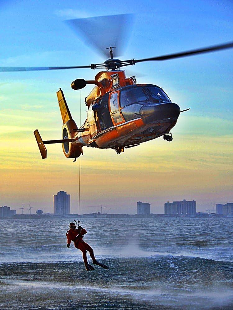 Coast Guard Poster Rescue Swimmer Coast Guard Rescue Swimmer 18X24 (CG20)