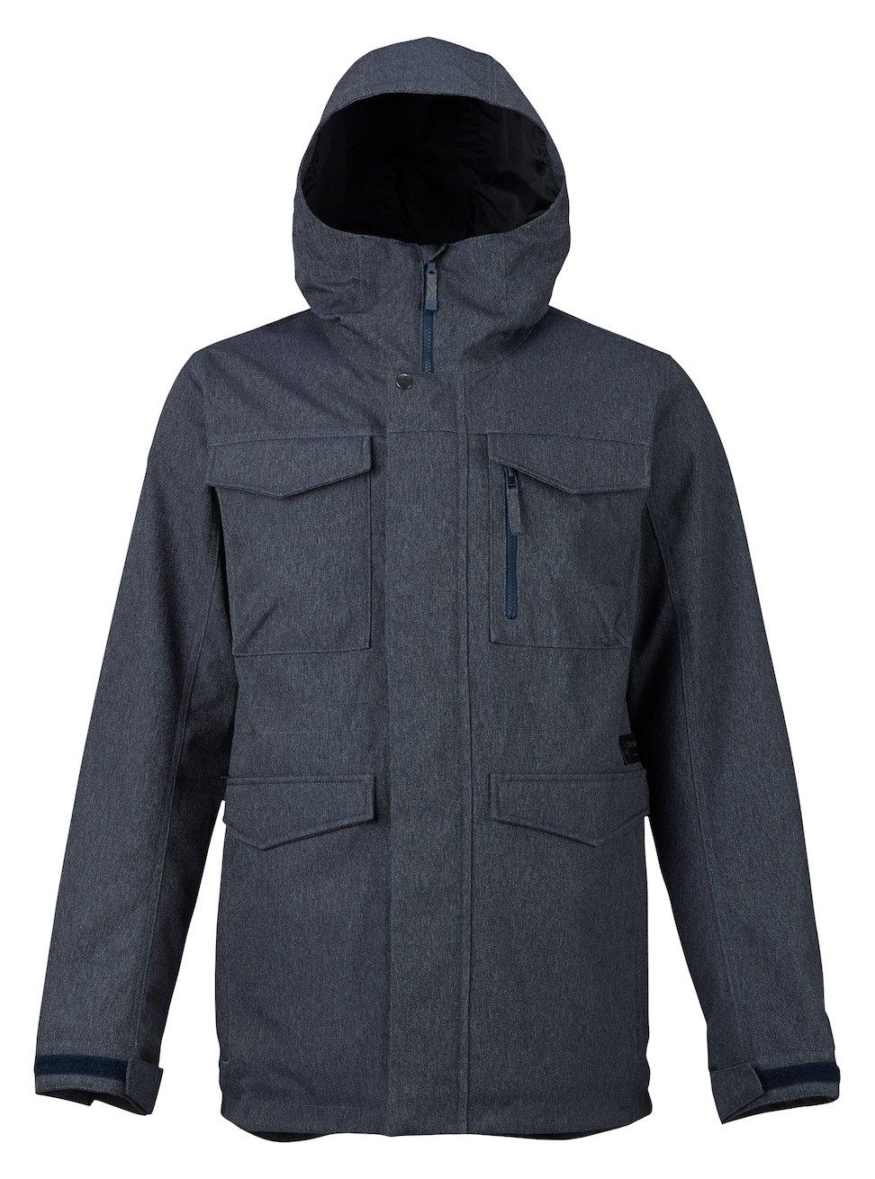 Burton Men's Covert Jacket, Denim, XX-Small