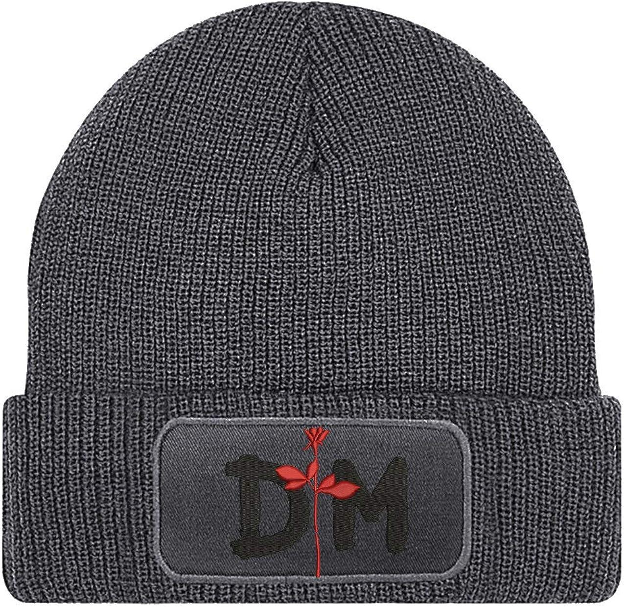Bordado de punto con logo bordado de la marca Depeche Mode Synthie color gris caprica91