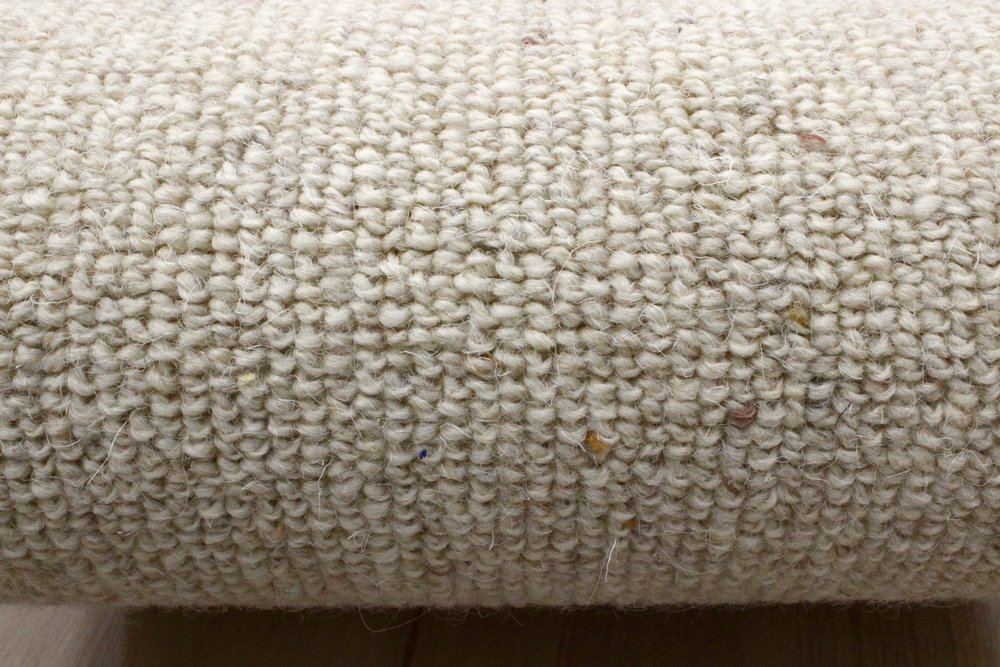 ウール絨毯 防ダニ 防虫 抗菌 カーペット 本間3畳 191x286cm じゅうたん 【Sウェリントン】ホワイト   B079N4QGKZ