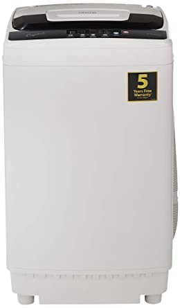 Onida 6.5 kg Fully Automatic Top Loading Washing Machine (T65CGD, Light Grey)