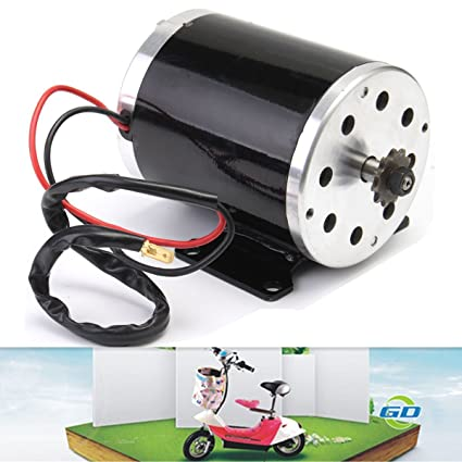Amazon com: 500W 24V DC Electric Brush ZY1020 Motor For Scooter