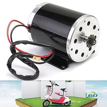 Amazon.com: 500 W 24 V DC cepillo eléctrico ZY1020 Motor ...