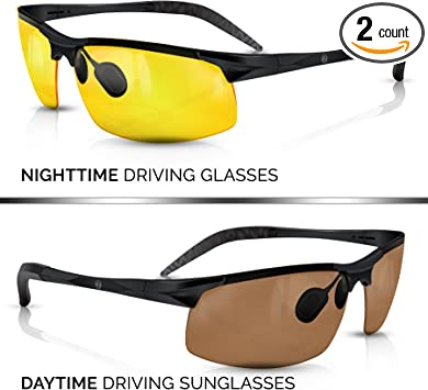 Ultra Vision Night Glasses ORIGINAL QUALITY Buy One And Get One FREE