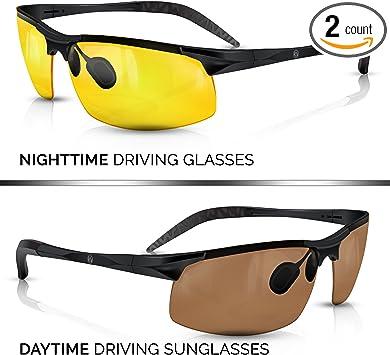 HD Glasses Anti-Glare Anti-UV Good Vision Sunglasses Fishing Drving Eyeswear