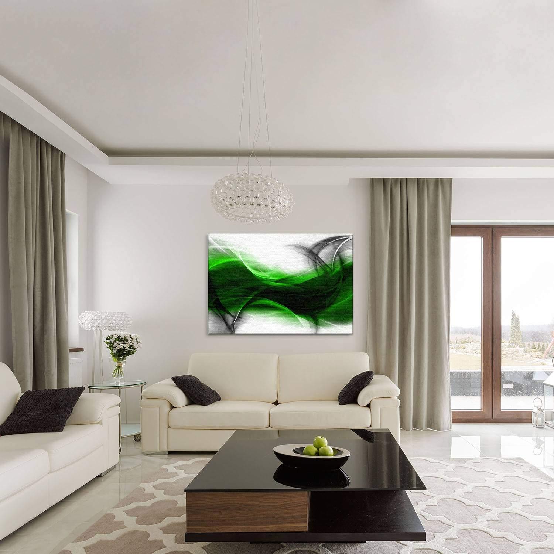 LANA KK Luxus Ausführung Leinwandbild Empfindung Star    Abstraktes Design auf 4cm Echtholz, Blau, 100 x 70 cm B074QRWVKF | Qualitätskönigin  2d0dc4