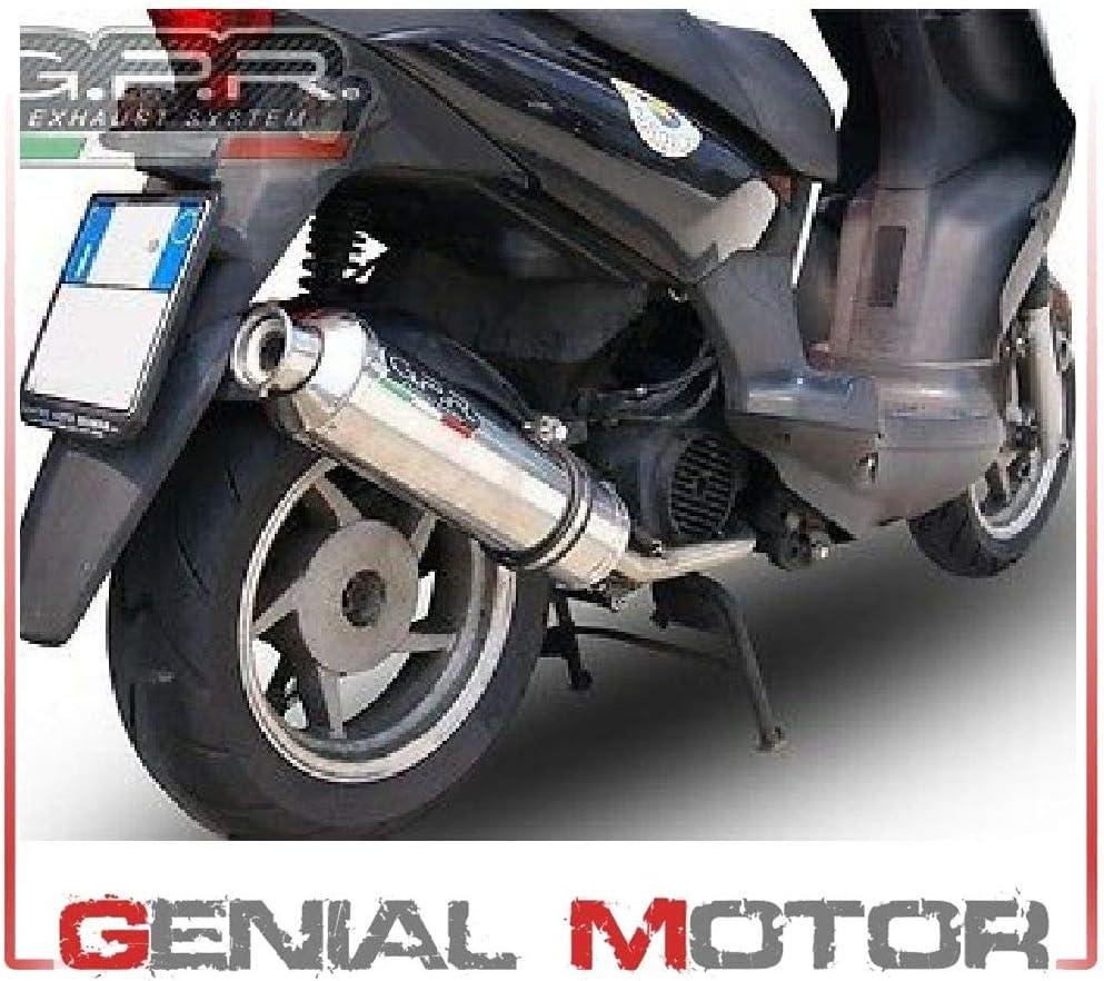 Gpr Auspuff Für Yamaha Majesty Dx 250 1999 06 Komplettanlage Zugelassen Für Scooter Serie 4road Round Auto