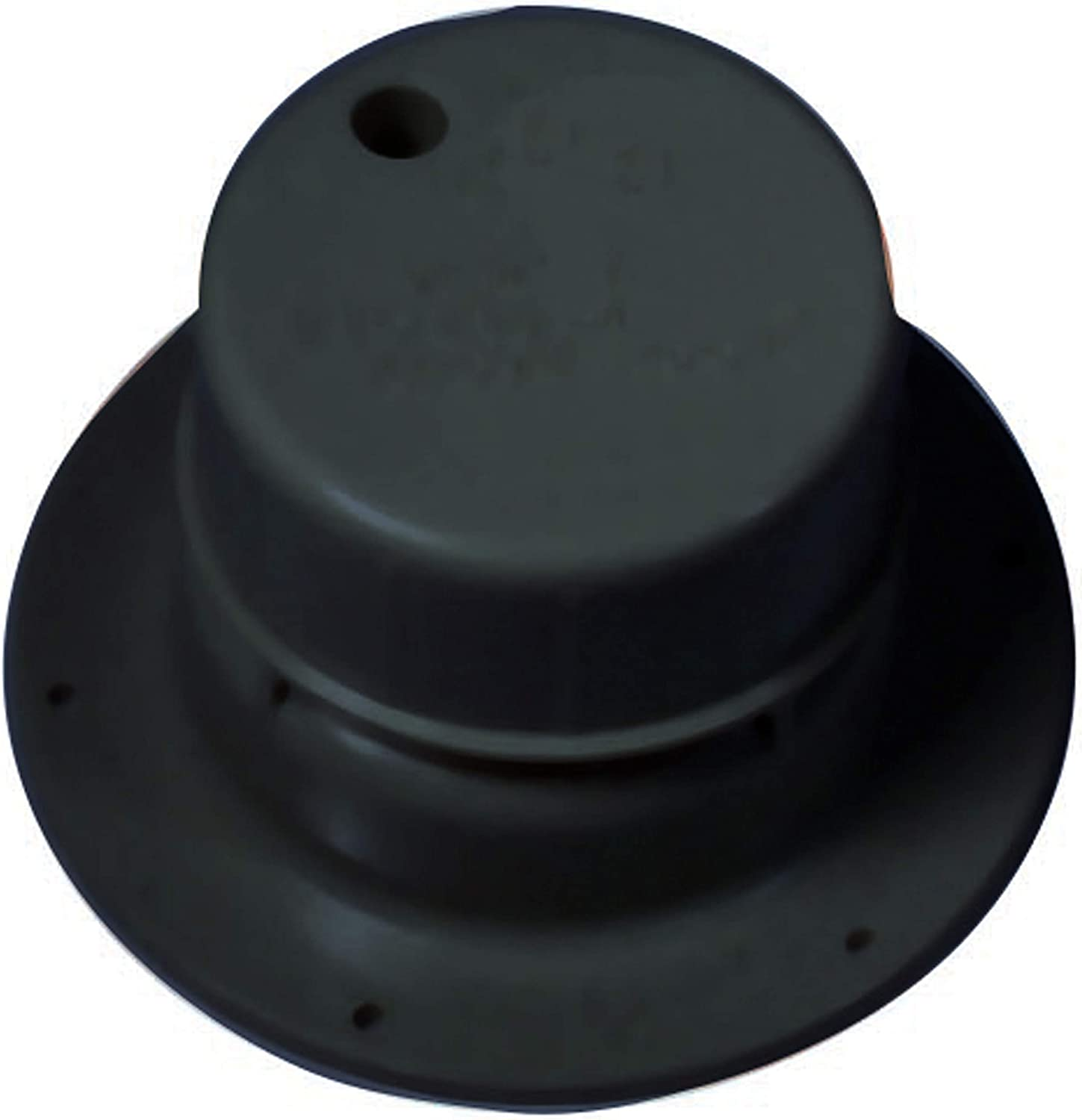 Ventline V2049-55 Plumbing Vent with Snap-On Cap - Black