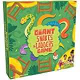 Pressman Toys Giant Snakes & Ladders Game (4 Player)